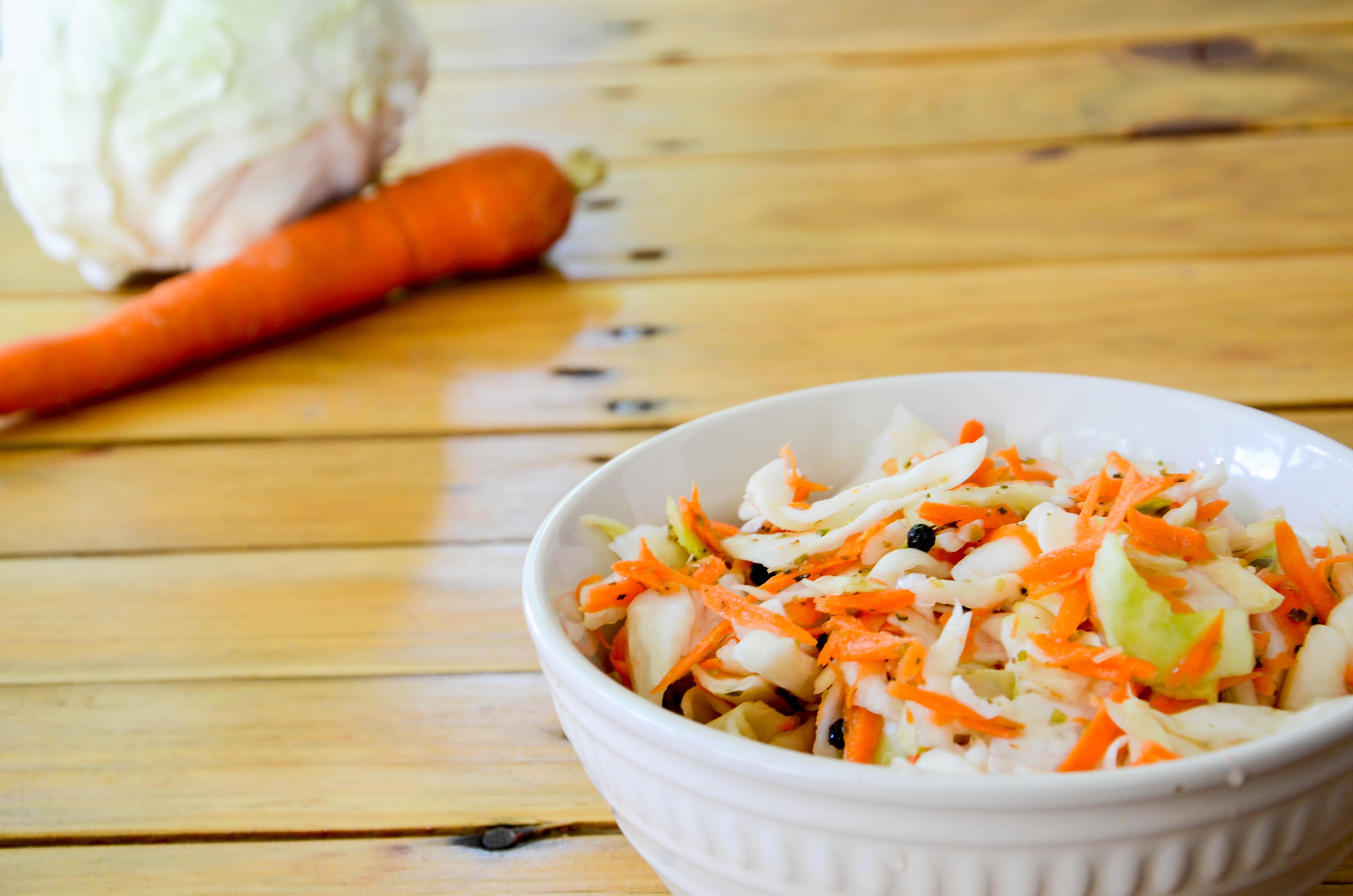 Encurtido De Repollo Y Zanahorias Brighter Bites
